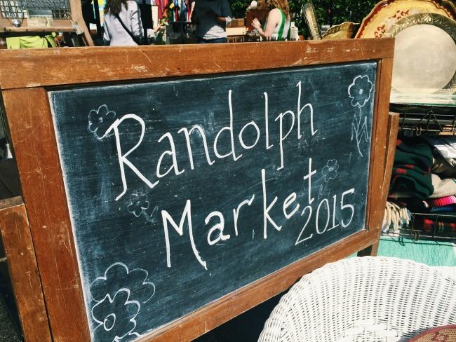 Randolph Street Market in Chicago