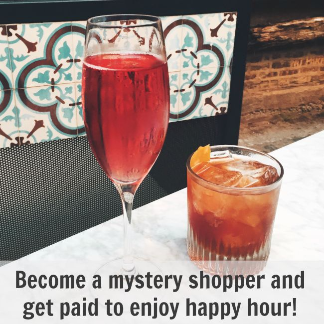 Earn money by mystery shopping!