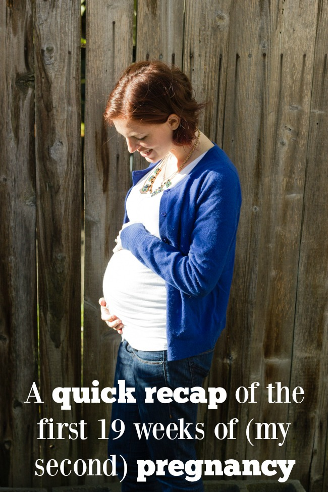 Thoughts during the first 19 weeks of my second pregnancy