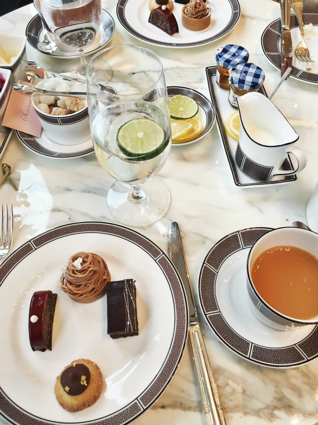 High Tea at the Langham Hotel Chicago