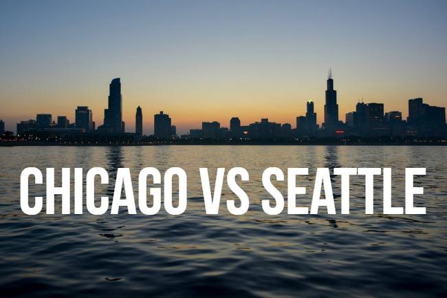 Chicago vs Seattle