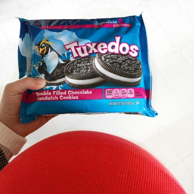Tuxedo Cookies from Safeway