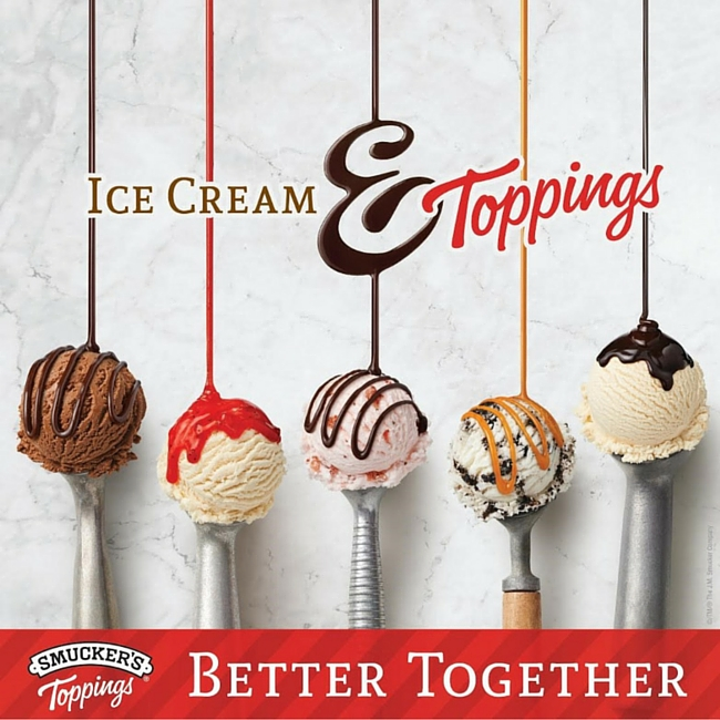 Smucker's Toppings - Better Together!
