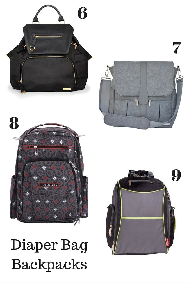 10 Diaper Bag Backpacks! (Because a 'normal' diaper bag just isn't as practical.)