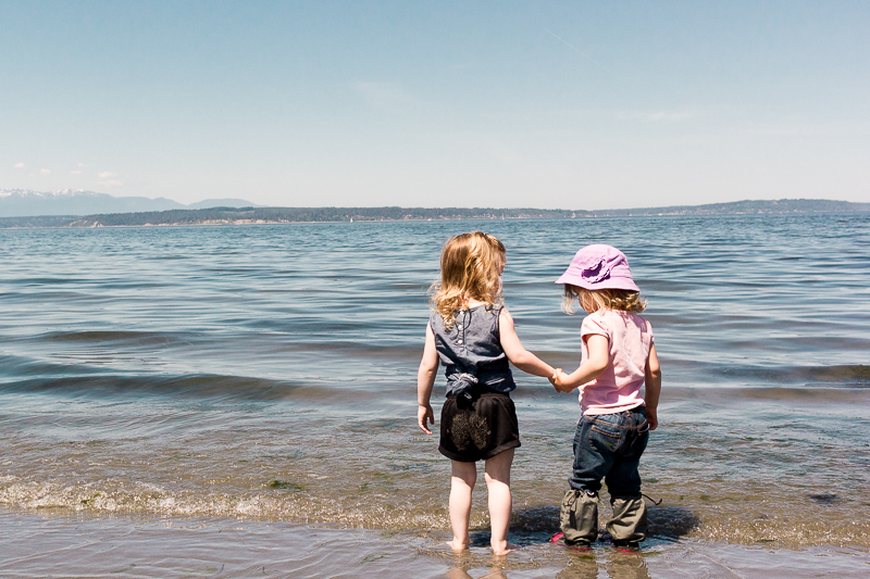 Summer days with toddlers in Seattle