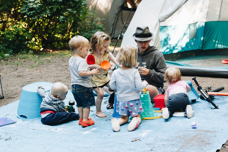 Tips on Camping with Toddlers