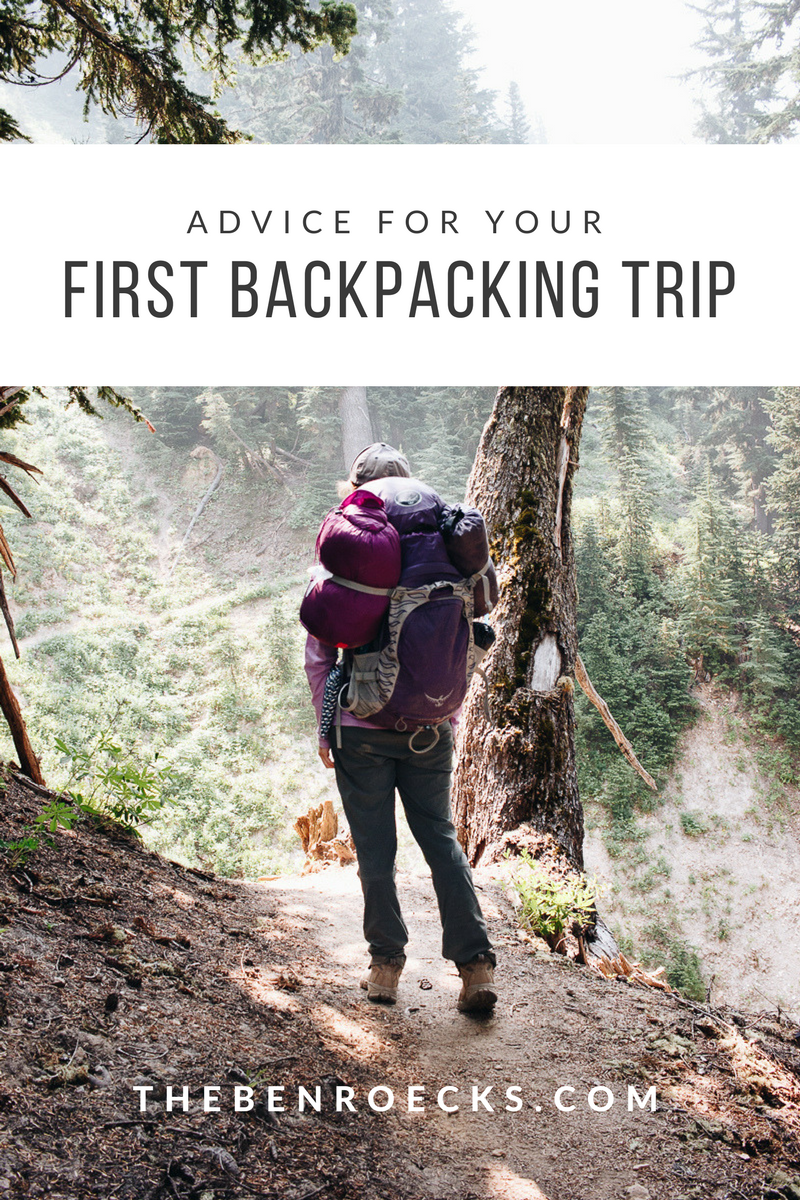 Advice for your first backpacking trip