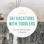 Adventuring With Kids: Planning a Ski Trip!
