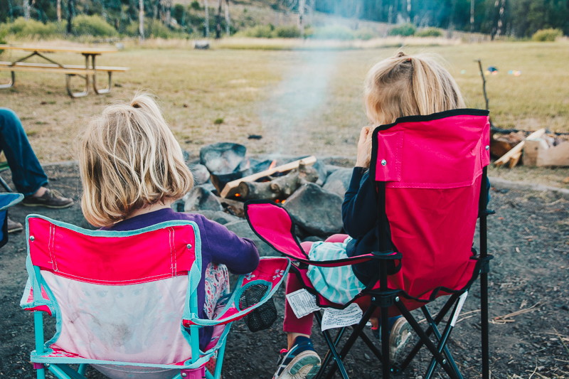 Intimidated about camping with toddlers? You should do it!