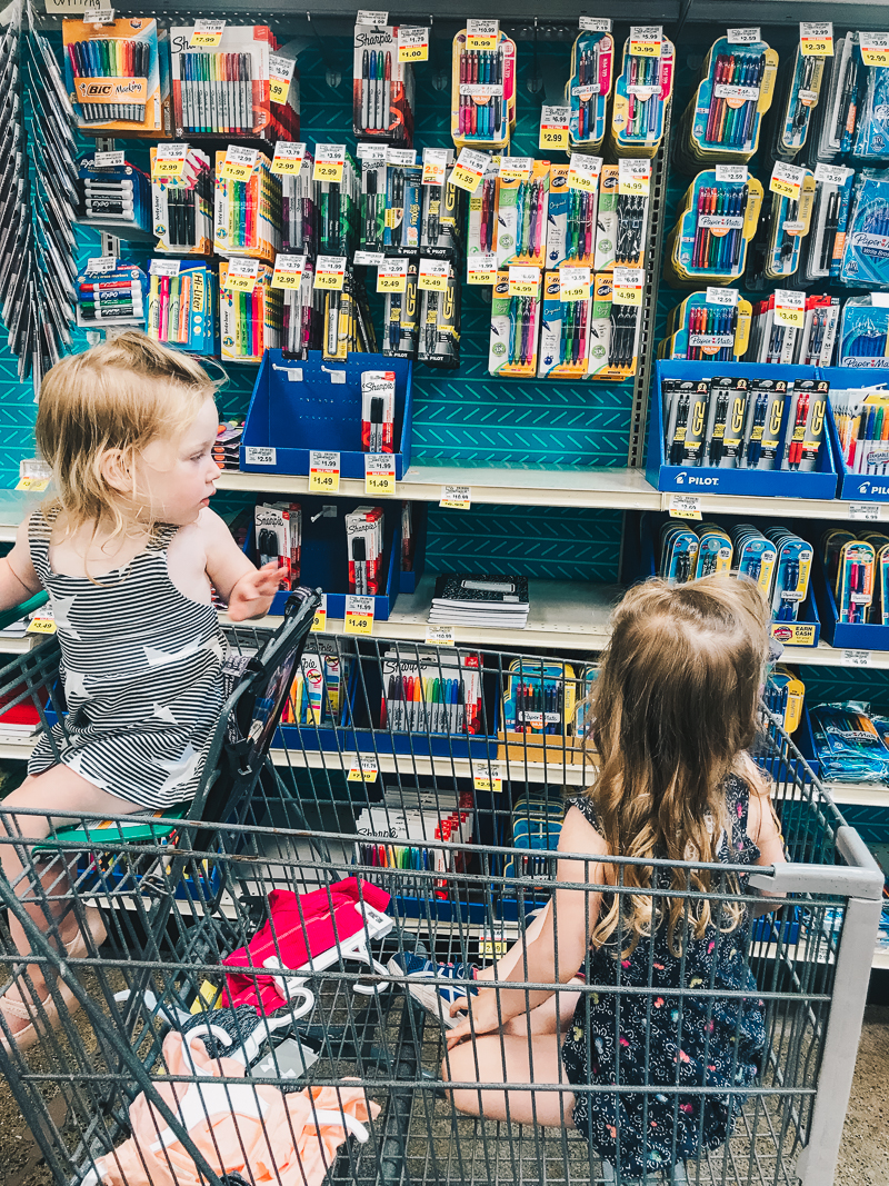 We love shopping at Fred Meyer for all of our back-to-school needs!