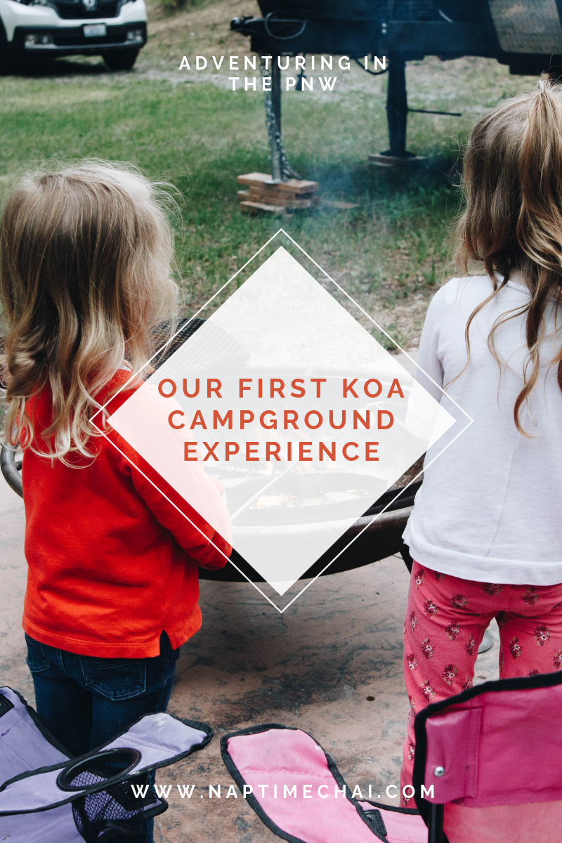 Have you stayed in a KOA campground? We loved our first experience!
